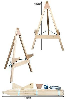 Avalon Archery Wooden Target Stand A Frame - Small