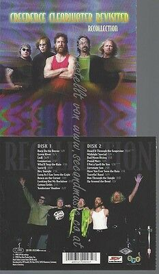 CD--CREEDENCE CLEARWATER REVISITED--RECOLLECTION-new and sealed