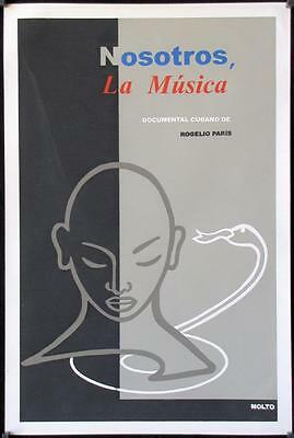 R221 WE ARE THE MUSIC Cuban R04 Rogelio Paris, cool Molto artwork