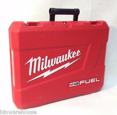 Milwaukee 2897-22 M18 18V Fuel Li-Ion Empty Case for Impact & Hammer Drill New