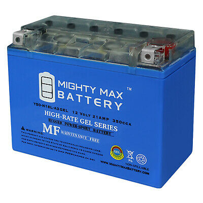 12V 4Amp Charge Mighty Max Y50-N18L-A3 Battery for Honda 1000cc Gold Wing 1976