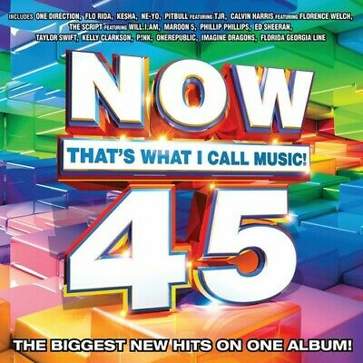 Various Artists : Now 45: Thats What I Call Music CD