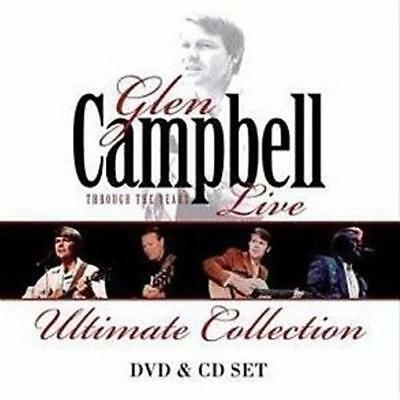GLEN CAMPBELL Through The Years Live: Ultimate Collection CD/DVD NEW