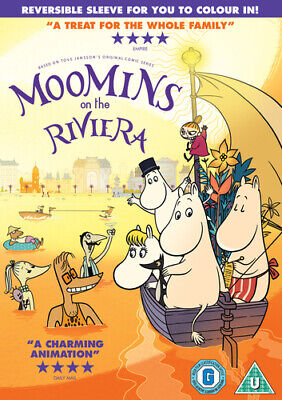 Moomins On the Riviera DVD (2015) Xavier Picard