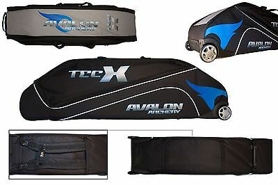 Avalon Archery Tec X Large Travel Trolley Compound Case Bag with Wheels