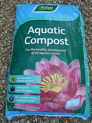 Aquatic Compost 20 Litres FREE POSTAGE on all POND PLANTS & BASKETS
