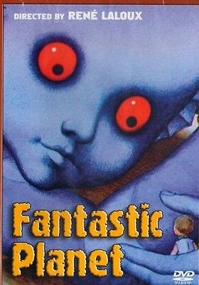 Fantastic Planet : Widescreen Edition - Rene Laloux Classic- English dub-DVD NEW