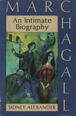 An Intimate Biography Marc Chagall(Paperback Book)Sidney Alexander-P-Acceptable
