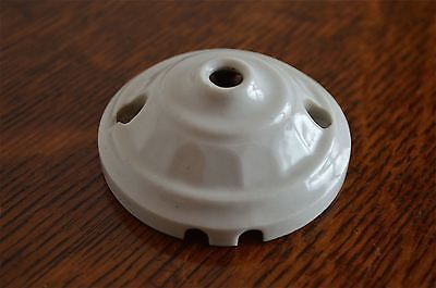 Beautiful original antique china ceiling light rose hanging light fitting RT6