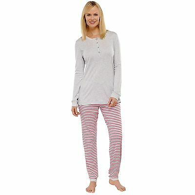 schiesser damen schlafanzug pyjama lang knopfleiste b ndchen jersey dunkelblau eur 49 95. Black Bedroom Furniture Sets. Home Design Ideas