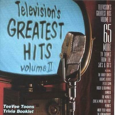 Various Artists : Televisions Greatest Hits, Vol. 2: From the 50s and 60s CD