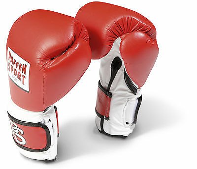 Pro Performance Boxhandschuhe Paffen Sport, rot 14-20Oz. Boxen. Sparring. Train.