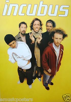 "Incubus ""group Standing Around Brandon Boyd"" Commercial Poster"