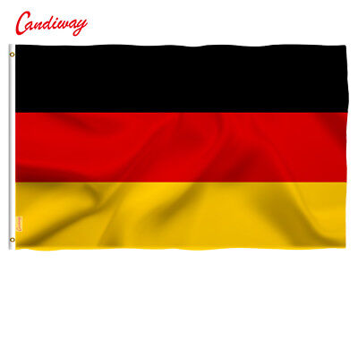 Wave 64 X 96 cm Super-Poly German FLAG Country  germany football Banner