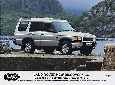 Land Rover Discovery ES Series II Press Photograph