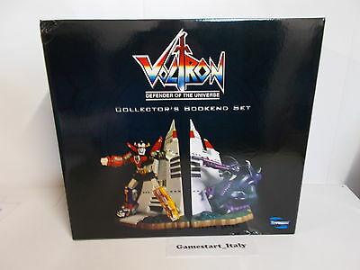Voltron Defender Of The Universe Collector's Bookend Set New Robot Action Figure