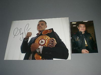 Fedor Chudinov Boxer boxing signiert signed Autogramm auf 20x28 Foto in person