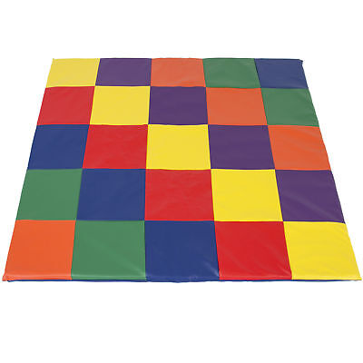 BCP Kids Soft Cushioned Toddler Play Mat Mutli Colored Activity Play Rest Time