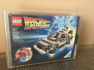 2013 Lego Back To The Future 21103 Stunning AFA 85 WOW LOOK!!