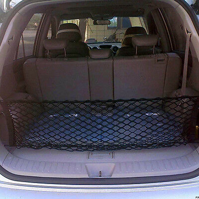 Universal Car Trunk Rear Cargo Organizer Storage Elastic Mesh Net Holder Perfect