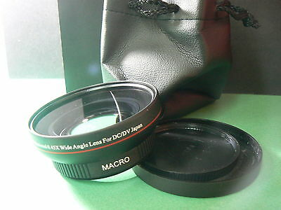KAW 67mm 0.45X Wide-Angle Lens w/Macro For Canon Powershot SX540 SX530 HS Camera
