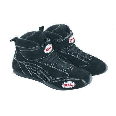Bell Viper II Mid-Top SFI 3.3/5 Certified Racing Shoes, Black, Size 10-1/2""
