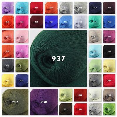 Sale New 1 ball x50gr LACE Soft Crochet Acrylic Wool Cashmere hand knitting Yarn