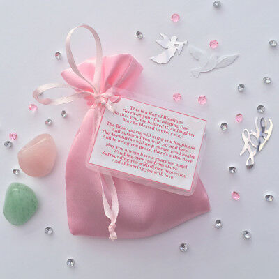 Christening Gift for a GRANDAUGHTER Bag of Blessings a Keepsake to be Treasured