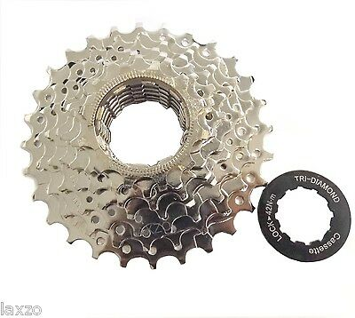 Bicycle Bike 7 Speed Index Cassette 12 - 28 Sprocket MTB &  Hybrid Shimano/Sram