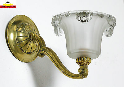 PETITOT wonderful french Art Deco sconce wall lamp light unsigned • CAD $476.91