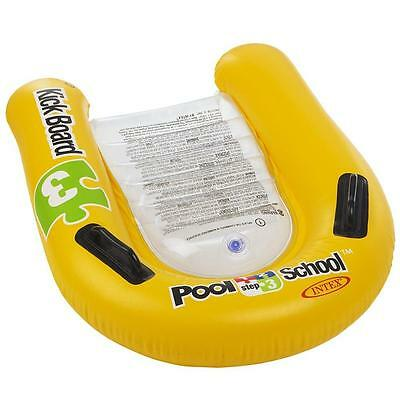 Intex Pool School Childrens/Kids Inflatable Swimming Kick-board Float Aid