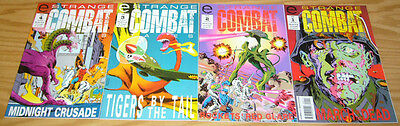 "Strange Combat Tales #1-4 VF/NM complete series for fans of ""weird war tales"""