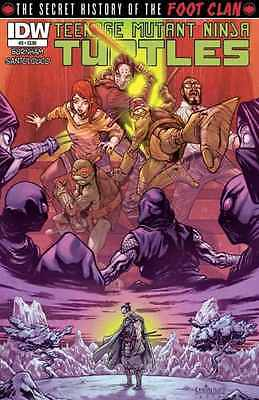Secret History Of The Foot Clan #3 Regular Cover Nm 2013 Teenage Mutant Ninja