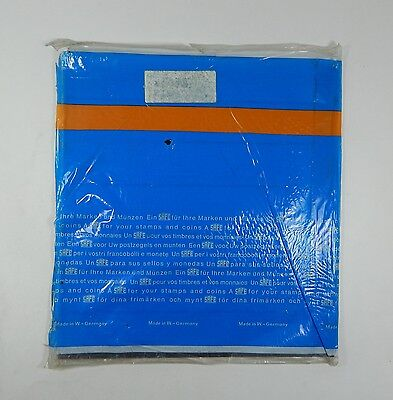 Safe 737 Blank Made In W. Germany Stamp Album Pages