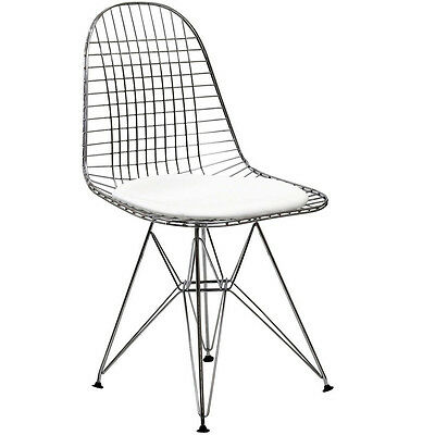 Modway Furniture EEI-200-WHI Tower Dining Side Chair, White