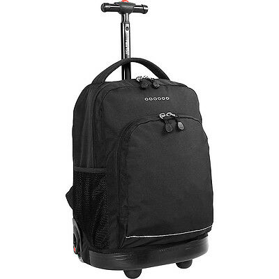J World New York Sunny Rolling Backpack 7 Colors Wheeled Backpack NEW