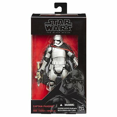 New Star Wars The Black Series - #6 Captain Phasma Figure - B3840