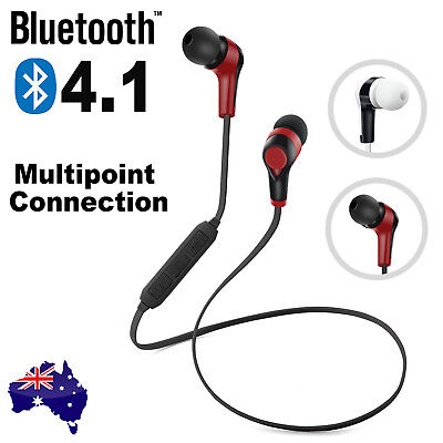 Bluetooth 4.1 Wireless Sport Headset Headphone Earphone for iPhone 6s 7 Samsung