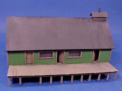 S SCALE/Sn3/ WISEMAN MODEL SERVICES WEST SIDE LUMBER CO COOK HOUSE STRUCTURE KIT