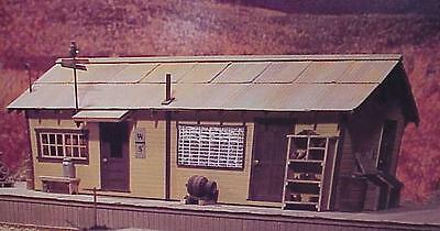 S SCALE/Sn3/ WISEMAN MODEL SERVICES WEST SIDE LUMBER CO DISPATCHER'S OFFICE KIT