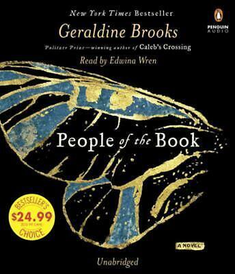 People of the Book by Geraldine Brooks (English) Compact Disc Book Free Shipping