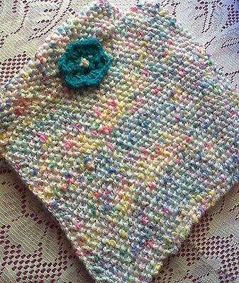 Hand Knitted Baby Poncho