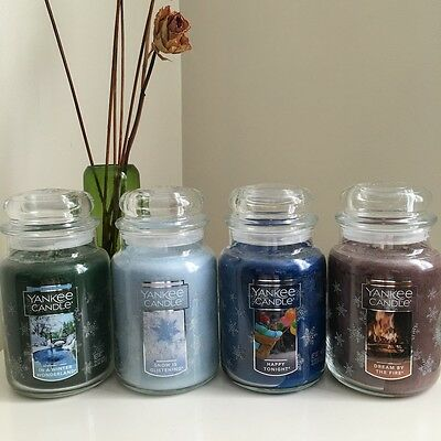 YANKEE CANDLE - Winter Wonderland Collection - Large Jars 22oz