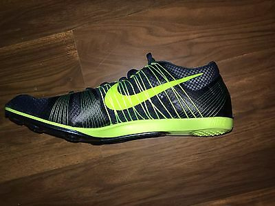 586a28aa494 Nike Zoom Victory 2 Unisex Track Spikes Running 555365-303 Green Volt Men 13  New