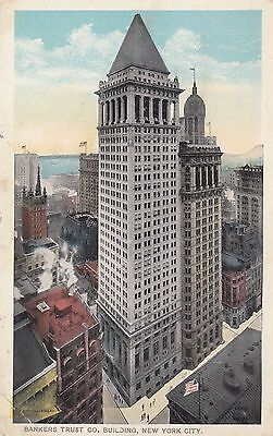 Post Card - New York City / Bankers Trust Co. Building