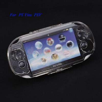 Clear Transparent Crystal Plastic PC Case Cover For Playstation PS Vita PSV 1000