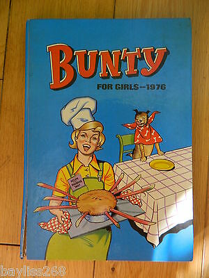 Bunty The Book For Girls 1976