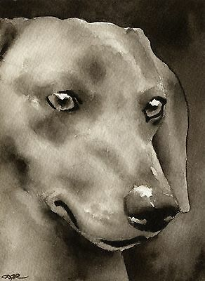 DACHSHUND note cards by watercolor artist DJ Rogers