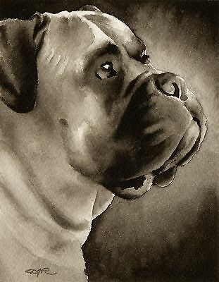 ENGLISH MASTIFF note cards by watercolor artist DJ Rogers