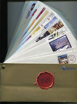 Uae United Arab Emirates Stamp 2008 Completed All Stamp+Fdc Issued Folder+Box